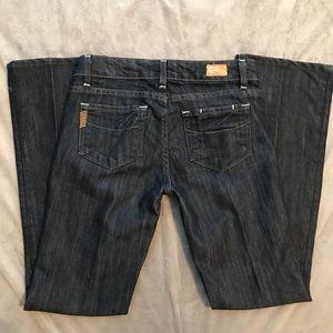 Paige Benedict Canyon Bootcut Jeans EUC Size 25